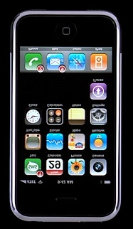 Flipped iPhone